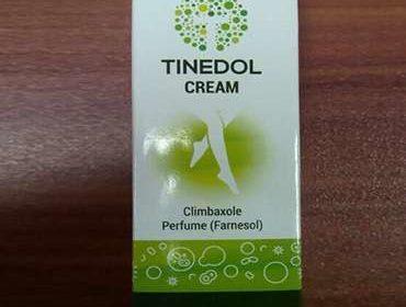 Упаковка крема Тинедол от грибка