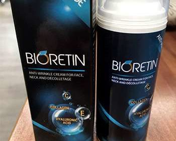 Упаковка Биоретина на столе