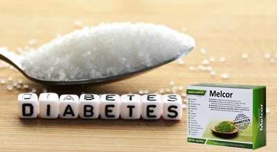Препарат Мелькор от диабета.